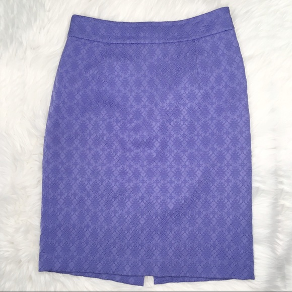 e197fd25f Banana Republic Skirts | Textured Pencil Skirt Lavender 4 | Poshmark